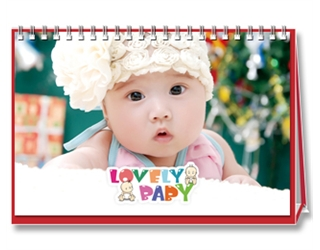 【Lovely Baby】25页台历